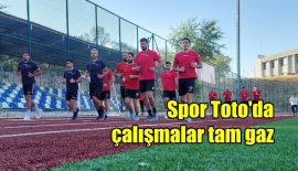 Spor Toto'da çalışmalar tam gaz devam ediyor