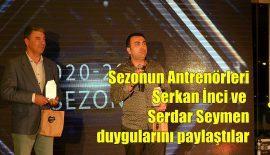 Sezonun antrenörleri Serdar Seymen ve Serkan İnci, Yılmaz Acar Davut'a konuştu