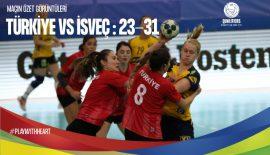 Türkiye – İsveç maçı özeti