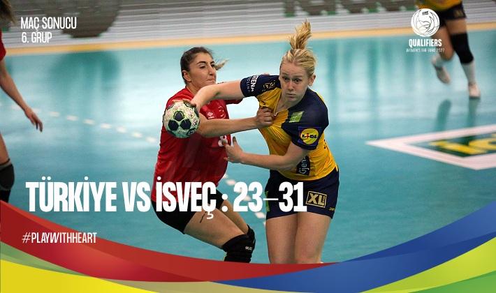 Türkiye – İsveç : 23-31