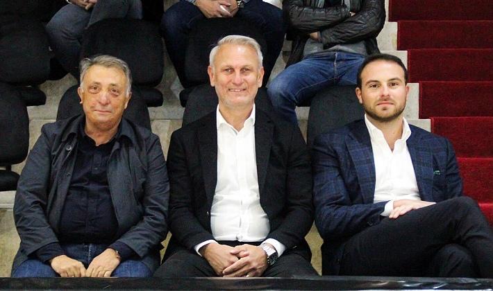 Kılıç, Beşiktaş Başkanı Çebi ile bir araya geldi