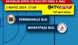 1 Mayıs'ta NTVSPOR'da Hentbol Finali