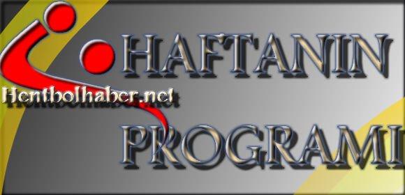 29-30 Kasım Haftanın Programı