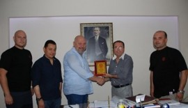 İrban'dan Başkan Uysal'a Ziyaret
