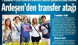 Ardeşen Gençlik ve Spor Kulübü Bayan Hentbol Takımına 5 Yeni Transfer