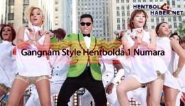 Gangnam Style, Hentbolda da 1 Numara