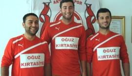 Antalyaspor'dan Üç İmza